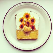 famous works of art recreated on toast incredible things