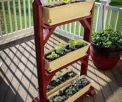 herb garden stand ideas garden plant stand interior home decorations designs