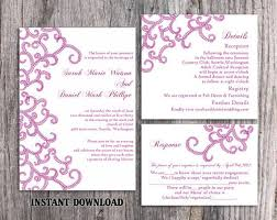 wedding invite template download sale bollywood wedding invitation template download printable etsy