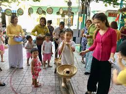 Hội chợ làng quê xuân dành cho trẻ mầm non - Báo Bình Dương Online
