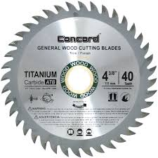 rip saw blade. for your general purpose ripping, crosscutting and finishing of various wood materials product these concord saw blades are incredible. rip blade