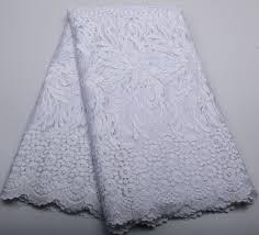 2019 <b>2016</b> New Fashion White <b>African Cord Lace</b> French Lace ...