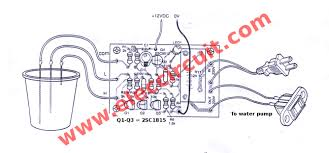 automatic water level controller circuit project the application of 2 level water pump