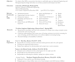 Nanny Resume Objective For Sample Nanny Resume Examples Job And Template Skills 30