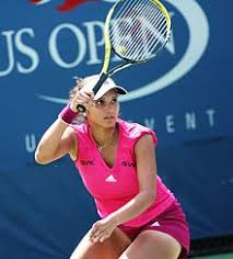 sania mirza  sania mirza at the 2010 us open