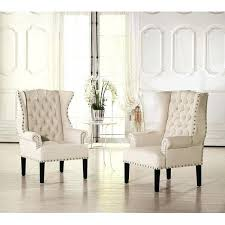 wingback chair with nailhead trim appealing velvet wing chair off white armchairs and accent of leather wingback chair with nailhead trim
