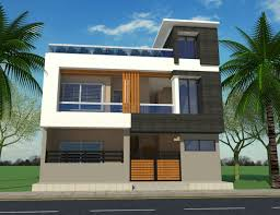 Elevation Designs For G 1 In Hyderabad G 1 House Front Elevation House Front Design Contemporary