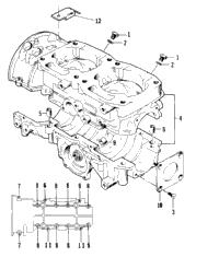 1996 arctic cat zr 580 efi ett 96zrk oem parts babbitts arctic crankcase assembly