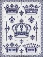Схема вышивка крестом корона