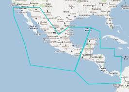 Nautical Charts Central America Mapmedia Raster Wide Central America