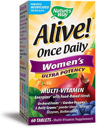 Nature's Way Alive! Once Daily Women's Multivitamin ... - Amazon.com