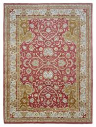9x12 red and gold large wool peshawar hand knotted oriental area rug new