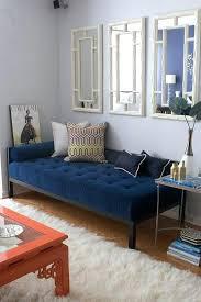 blue velvet bench. Navy Velvet Bench Blue Contemporary Living Room V Design Group .
