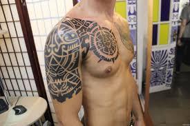 узор майя плечо и грудь добавлено иван григорьев