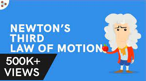 newton s third law of motion forces