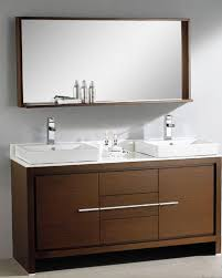 60 double sink bathroom vanities. Fresca-Allier-60-Wenge-Brown-Modern-Double-Sink- 60 Double Sink Bathroom Vanities O