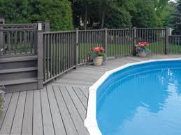 decking around above ground pool composite deck around above ground pool composite deck photo above ground composite pool deck