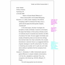 Example Of Apa Paper With Subheadings Floss Papers