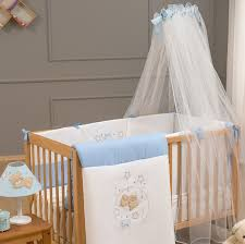 baby bed set funna baby blue dreams