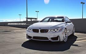 All BMW Models 2010 bmw m4 : Alpine White F82 BMW M4 Sits on ADV.1 Wheels, Installation by ...