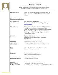 Sample Resume For Highschool Graduate Resume No Experience Sample Free Download High School Student Resume 46