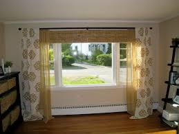 Uncategorized:Curtain Track In Square Bay Window Bedroom Pinterest Curtains  For Windows Images With Seat