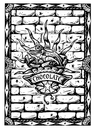 Kleurplaten Paradijs Kleurplaat Chocolade Kikkers