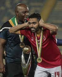 حسين الشحات يواصل الاحتفالات بالبطولة الأفريقية: نسر الأهلى سيظل يحلق عاليا