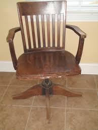 antique wood office chair wooden swivel desk driftwood best 2017