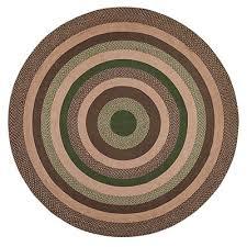 barrington braided rug round 8 foot