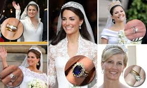 the most stunning royal wedding rings