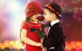 Kiss images, Couple wallpaper, Cute kids
