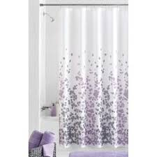 purple and silver shower curtain. Mainstays Sylvia Fabric Shower Curtain Purple And Silver E