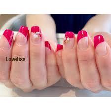 At Nailloveliss Nail Loveliss Clear Pink フレンチ