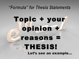 what is a thesis statement scholars in  picture