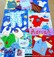 baby clothes memory quilt tutorial