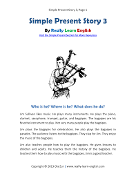 Free Printable Story And Exercises For The English Past Perfect