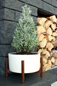wall flowers home decor ceramics kalalou modern festive winter home decor ceramics