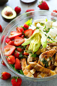 grilled chicken salad with strawberries. Wonderful Grilled Juicy Balsamicgrilled Chicken And Lots Of Fresh Strawberries Creamy  Mozzarella Cheese Make For Inside Grilled Chicken Salad With Strawberries N