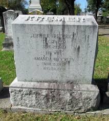 Amanda Blockley Kremer (1862-1909) - Find A Grave Memorial
