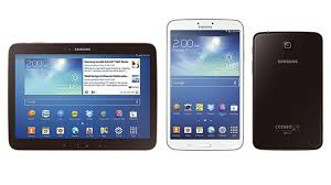 type of tab samsungs galaxy tab 3 family arrives in the us on july 7th prices