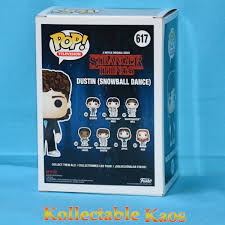 SDCC 2018 - Stranger Things - Dustin in Snow Ball Outfit Pop! Vinyl Figure  (RS) #617 - Kollectable Kaos