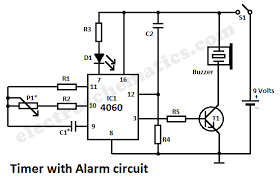 timer with alarm circuit Warn Industries Winch Wire Diagram alarm timer circuit schematic