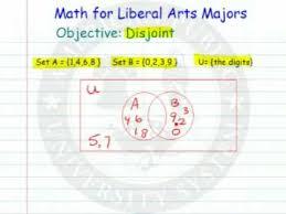 Disjoint Venn Diagram Example Disjoint Sets