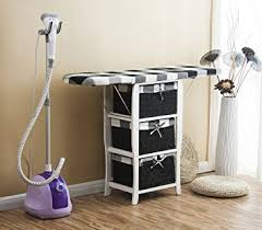 ironing board furniture. cherrytree furniture wood wicker folding ironing board centre with storage baskets chest of drawers i