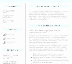 New Resume Format 2012 Pdf Good 12 Lovely Image Graphic Designer