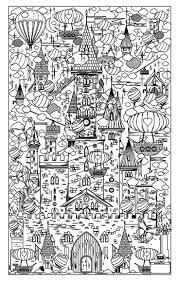 Free Adult Coloring Page Coloring Architecture