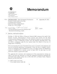 Audit Announcement Memorandum Template Templates At