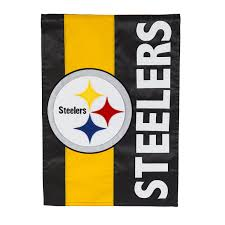 Steelers Applique Design Team Sports America Pittsburgh Steelers Embellish Reg Flag Multicolor