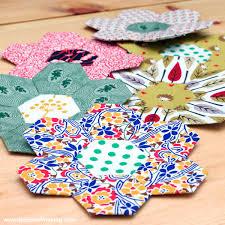 Paper Piecing Flower Tutorial English Paper Piecing Hexies Part 2
